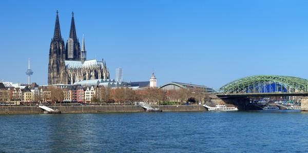 Magnettafel Pinnwand XXL Magnetbild Köln Dom
