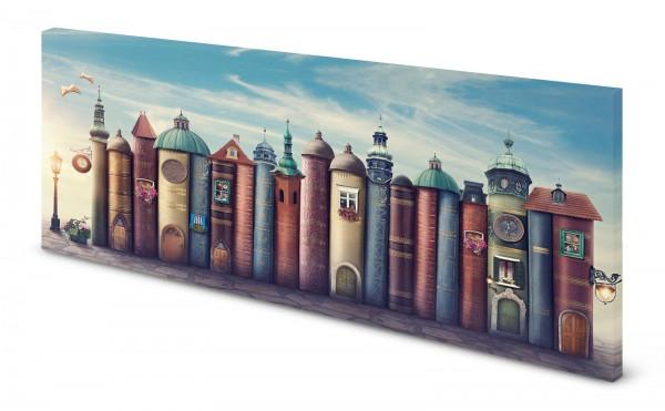 Magnettafel Pinnwand Bild Fantasy Bücher Märchen Lesen gekantet