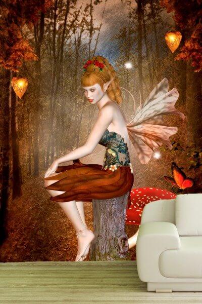 Poster Fototapete Fantasy Elfe