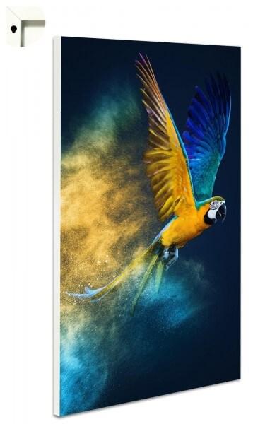Magnettafel Pinnwand Ara Papagei Vogel