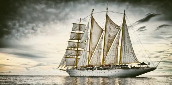 Magnettafel Pinnwand Bild XXL Panorama Meer Segelschiff