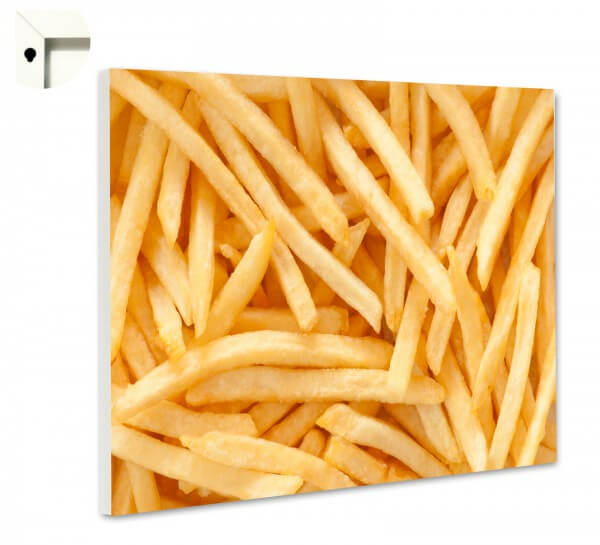 Magnettafel Pinnwand Küche Pommes pur 2