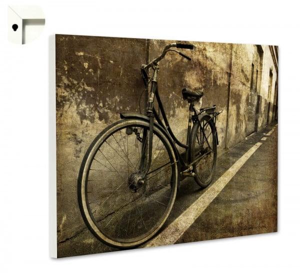 Magnettafel Pinnwand Fahrrad Retro Antik