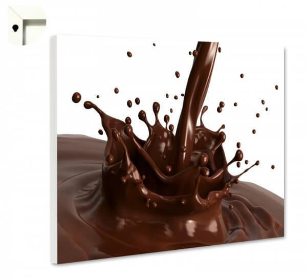 Magnettafel Pinnwand Küche Kakao