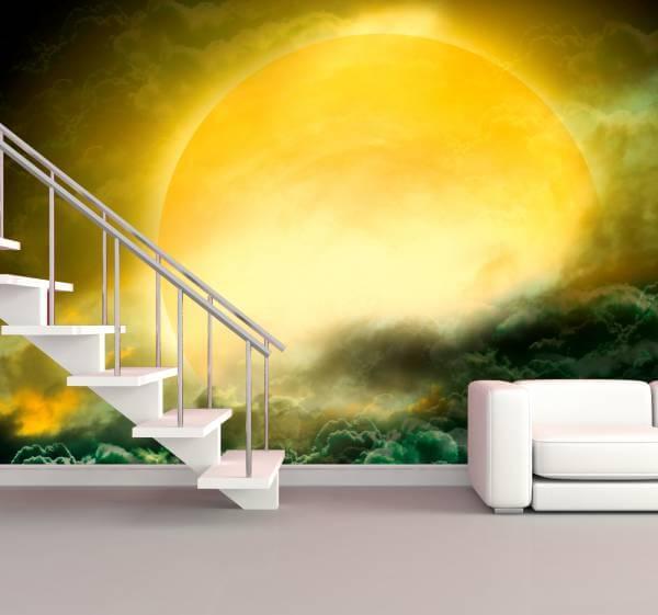 Poster Fototapete Fantasy Sonne