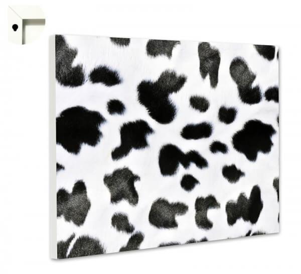 Magnettafel Pinnwand Muster Kuh Fell