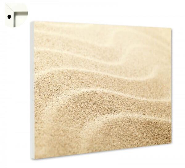 Magnettafel Pinnwand Muster Spuren im Sand