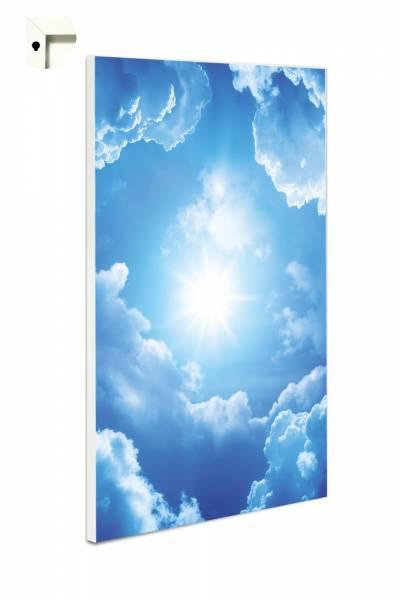 Magnettafel Blauer Wolkenhimmel mit Sonnenschein