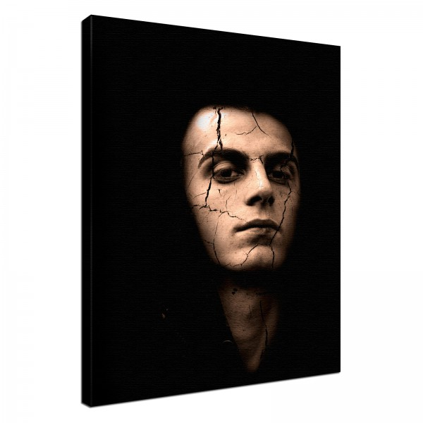 Leinwand Bild edel Gothic Mephisto