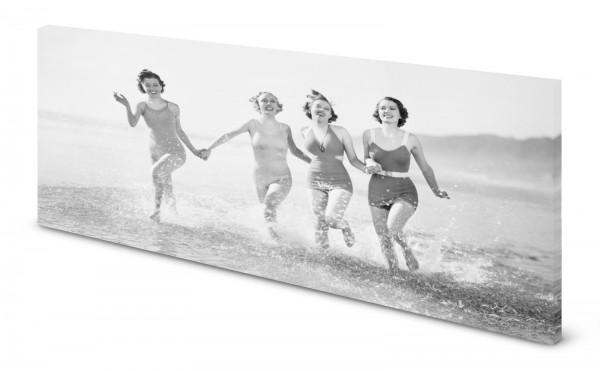 Magnettafel Pinnwand Bild Retro Nostalgie Badenixen gekantet