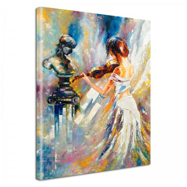 Leinwandbild Gemälde Mae