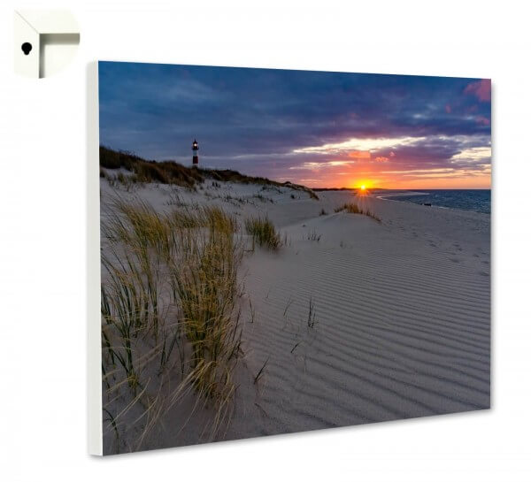 Magnettafel Pinnwand Natur Sylt Strand Sonnenaufgang