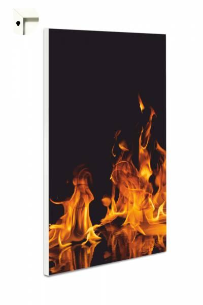 Magnettafel Pinnwand Feuer Flammen
