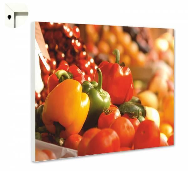 Magnettafel Pinnwand Küche Gemüse vom Markt