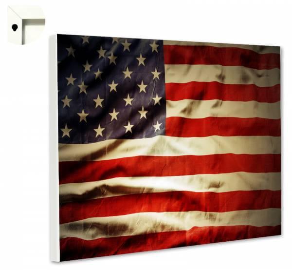 Magnettafel Pinnwand mit Motiv Flagge USA