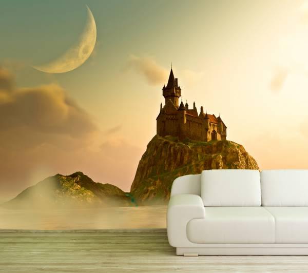 Poster Fototapete Fantasy Festung