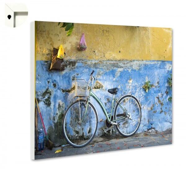 Magnettafel Pinnwand Fahrrad