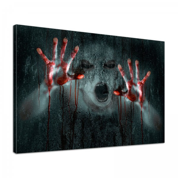 Leinwand Bild edel Gothic Horror ES