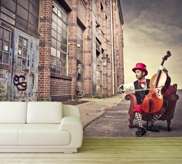 Vlies Tapete Poster Fototapete Industrial Style Fabrik