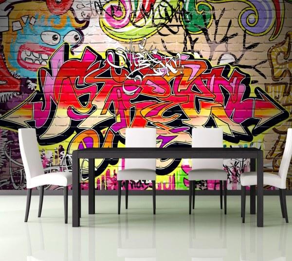 Poster Fototapete Grafitti