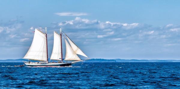 Magnettafel Pinnwand Bild XXL Panorama Segelschiff Meer