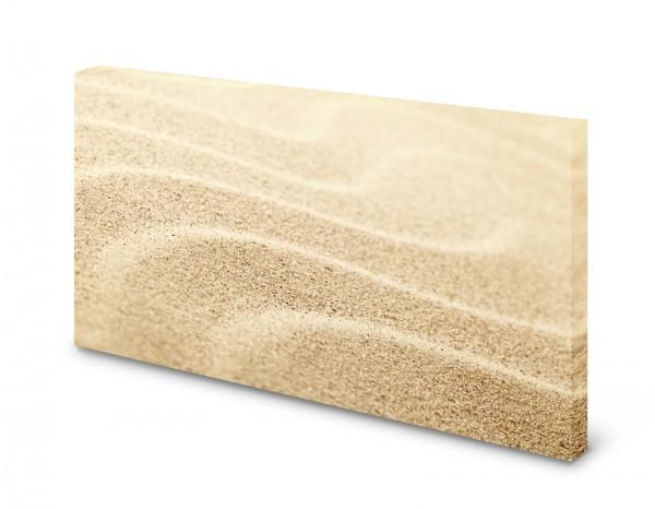 Magnettafel Pinnwand Bild Sand Wüste Wellen XXL gekantet