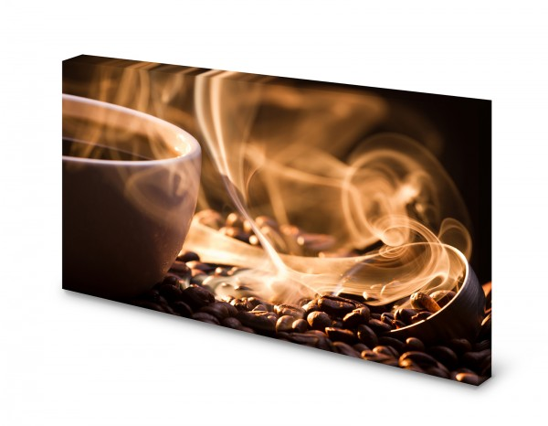 Magnettafel Pinnwand Bild Kaffee Kaffeetasse Duft XXL gekantet