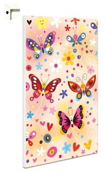 Magnettafel Pinnwand Kinder Mädchen Schmetterlinge