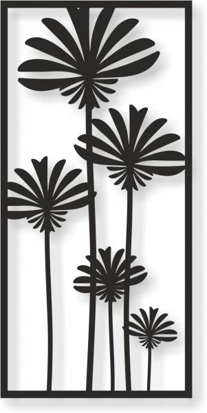 Bild Wandbild Wandtattoo Acryl Mobile Blumen Natur Floral