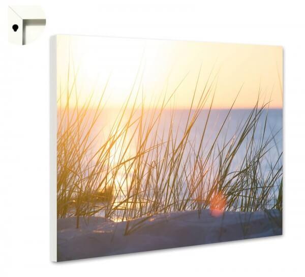Magnettafel Pinnwand Natur Sylt Düne Sonnenuntergang