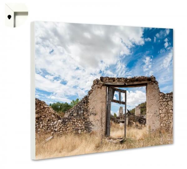 Magnettafel Pinnwand Natur Ruine