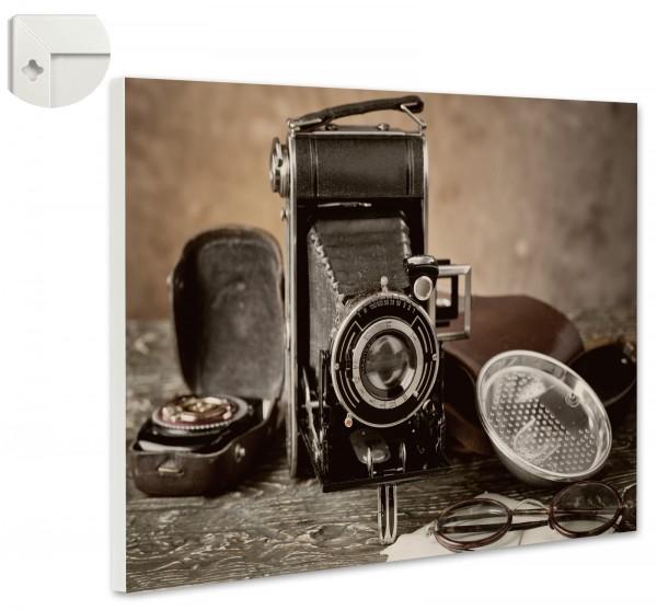 Magnettafel Pinnwand Magnetwand Kamera Retro Antik