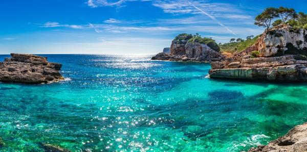 Magnettafel Pinnwand Bild XXL Panorama Mallorca Spanien