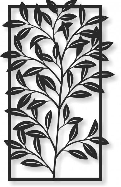 Bild Wandbild Wandtattoo Acryl Mobile Natur Bambus Zweig Blätter