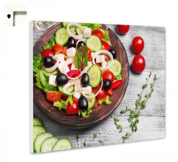 Magnettafel Pinnwand Küche Salat Tomaten
