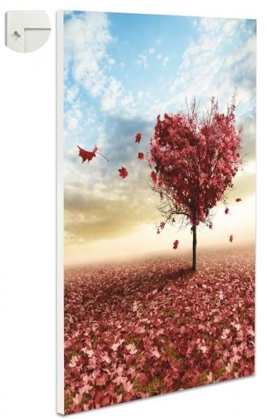 Magnettafel Pinnwand Fantasy Herz Baum Blätter