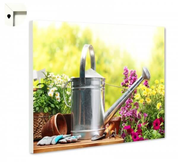 Magnettafel Pinnwand Blumen Natur Garten Liebe