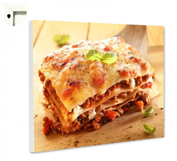 Magnettafel Pinnwand Küche Lasagne