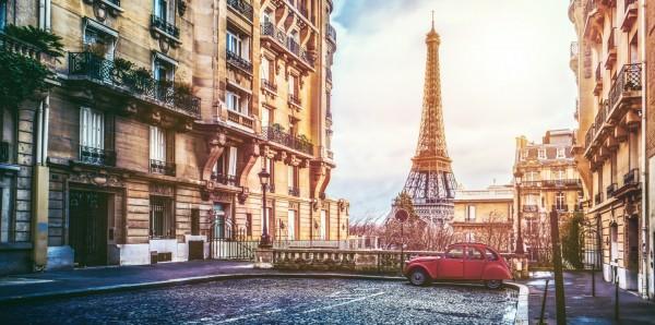 Magnettafel Pinnwand Bild XXL Panorama Paris Eiffelturm