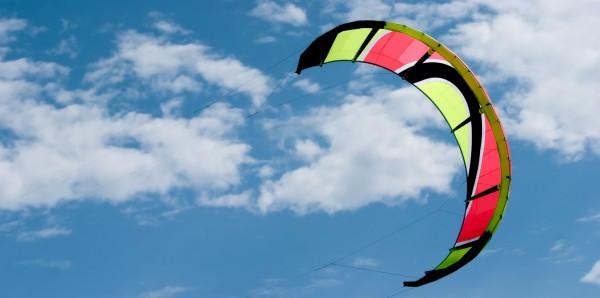Magnettafel Pinnwand XXL Magnetbild Kitesurfen Surfen