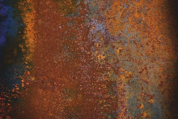 Magnettafel Pinnwand Magnetbild Rost Rostoptik alt