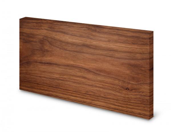 Magnettafel Pinnwand Bild Holzoptik Holz dunkel XXL gekantet