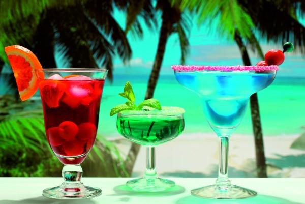 Magnettafel Pinnwand XXL Bild Cocktail Bar