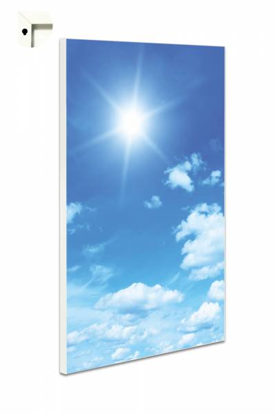 Magnettafel Pinnwand Blumen Natur Himmel Blau