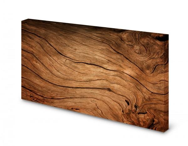Magnettafel Pinnwand Bild Holz Holzoptik hell XXL gekantet