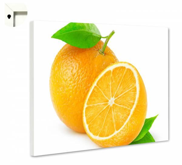 Magnettafel Pinnwand Küche frische Orange