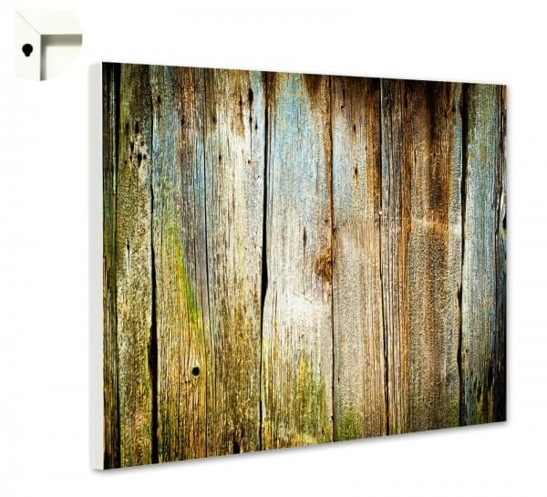 Magnettafel Pinnwand Natur Muster Holz Planken