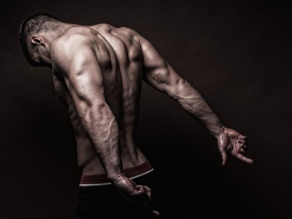 Vlies Tapete XXL Poster Fototapete Fitness Muskeln Delta Trizeps