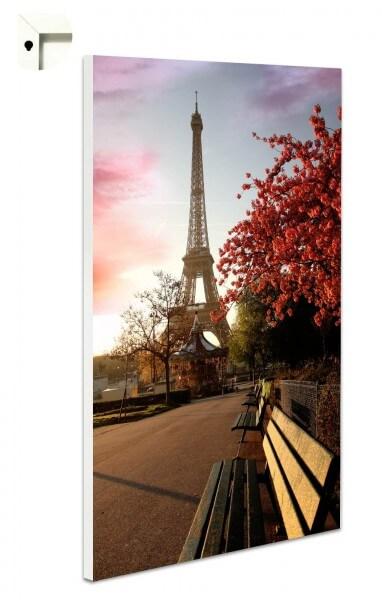 Magnettafel Pinnwand mit Motiv Paris im Herbst