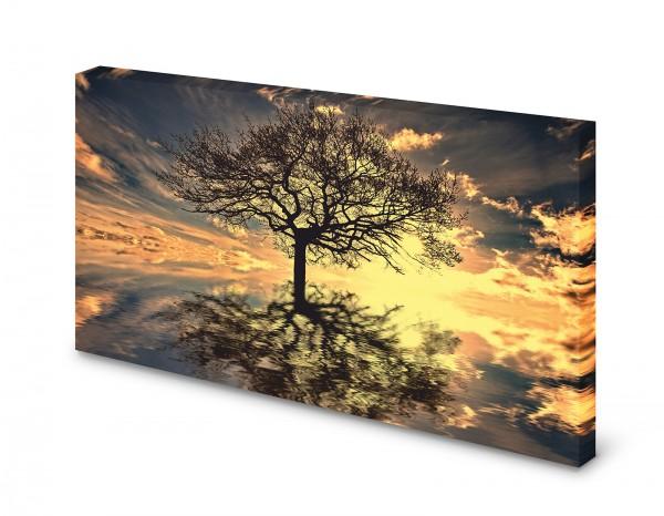 Magnettafel Pinnwand Bild Lebensbaum XXL gekantet